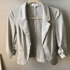 Soft Open Fitted Blazer